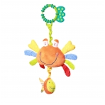 Minkštas žaislas su garsu - krabas