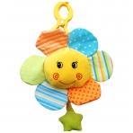 Minkštas žaislas su melodija - saulutė