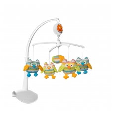 Muzikinė karuselė pelėdžiukai