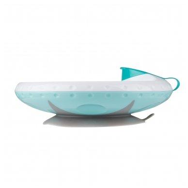 Termo lėkštė prie stalo limpančiu dugnu
