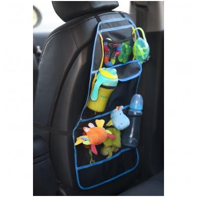 Automobilio sėdynės krepšys – apsauga 2
