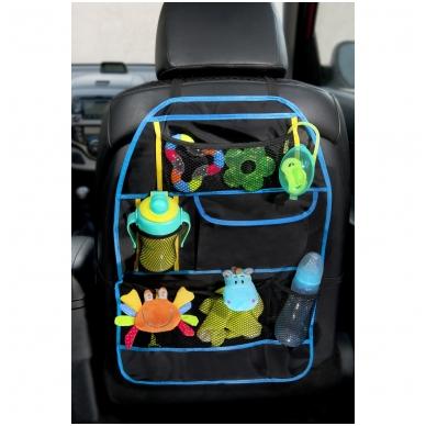 Automobilio sėdynės krepšys – apsauga 3