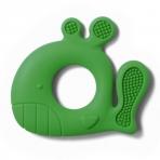 BabyOno kramtukas silikoninis, žalias - banginis, 935/02