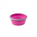 BabyOno  magiškas silikoninis dubuo maisteliui, 400ml, 1323 (rožinis)