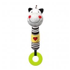 BabyOno cypsiukas su kramtuku C-MORE, zebra