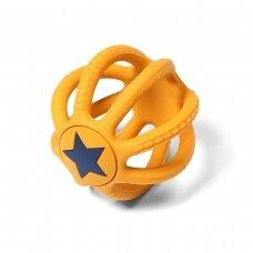 BabyOno kramtukas, ORTHO, oranžinis - žvaigždutė, 515/02