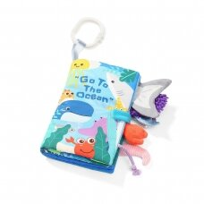 BabyOno lavinamoji  knygelė Go To The Ocean, vandenynas, 544