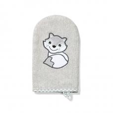 BabyOno pirštinė vaiko maudymui bambukinė, pilka, 347/03