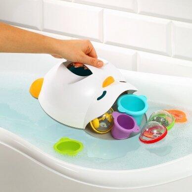 BabyOno laikiklis vonios žaislams, pingvinas, 593 3
