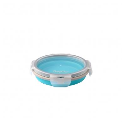 BabyOno  magiškas silikoninis dubuo maisteliui, 400ml, 1323 (mėlynas)