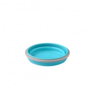 BabyOno  magiškas silikoninis dubuo maisteliui, 400ml, 1323 (mėlynas) 2