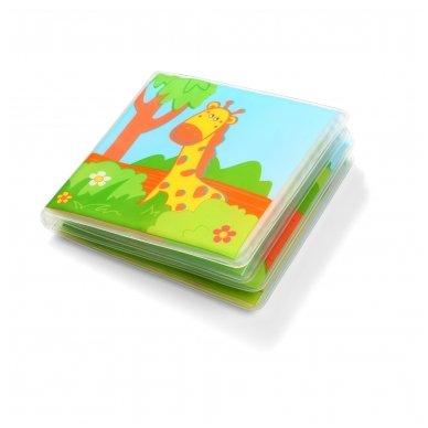 BabyOno vonios žaislas-knygutė laukiniai gyvūnai 2