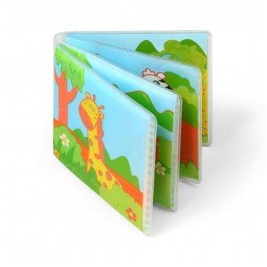 BabyOno vonios žaislas-knygutė laukiniai gyvūnai