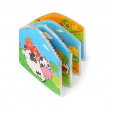 BabyOno vonios žaislas-knygutė kaimo gyvūnai 2
