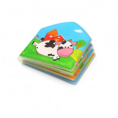 BabyOno vonios žaislas-knygutė kaimo gyvūnai