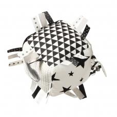 Lavinamasis žaislas, kubas, juoda  - balta, 755
