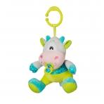 Minkštas žaislas su melodija - karvutė