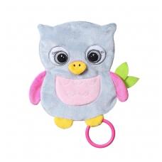 BabyOno migdukas pelėda, FLAT OWL CELESTE, 446