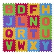 Minkšta dėlionė raidės 16 vnt