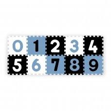 BabyOno lavinamoji dėlionė skaičiai, mėlyna, 10 vnt., 274/03