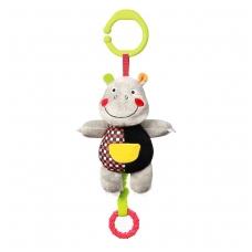 Minkštas žaisliukas su muzikėle C-MORE, hipopotamas