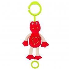 Minkštas žaislas su melodija - mylintis Dino