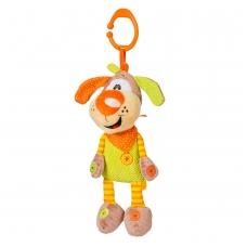 Minkštas žaislas su melodija - šuniukas