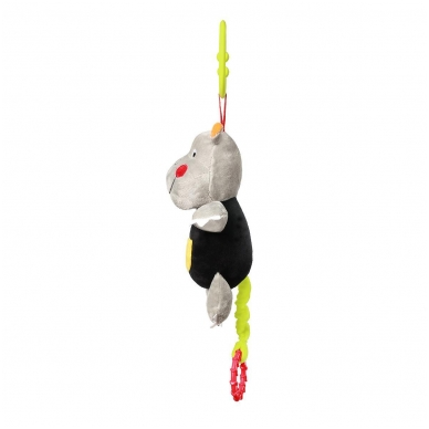 Minkštas žaisliukas su muzikėle C-MORE, hipopotamas 2