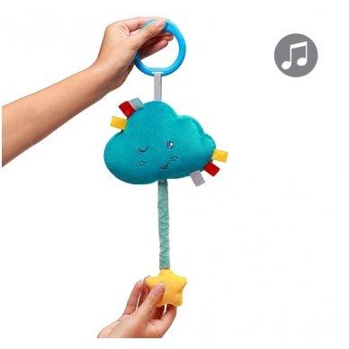 Minkštas žaislas BabyOno su melodija - debesėlis 3