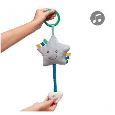 Minkštas žaislas BabyOno su melodija - žvaigždutė 3