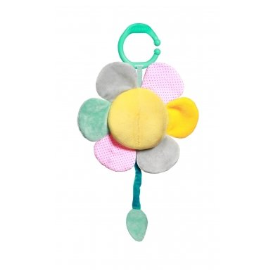 Minkštas žaislas su melodija - gėlytė 2
