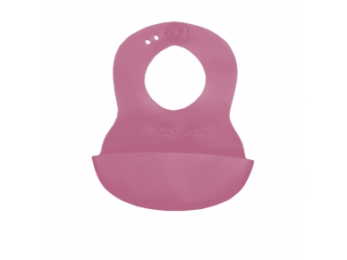 Soft baby bib with adjustable lock 3