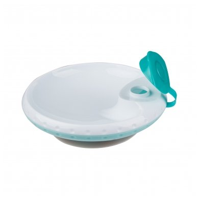 Termo lėkštė prie stalo limpančiu dugnu 2