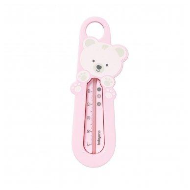 Termometras voniai meškėnas - rožinis