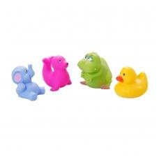 Vonios žaislai didieji gyvūnėliai 4 vnt