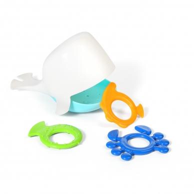 Vonios žaislas banginis, 883 (baltas)