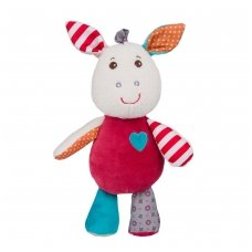 Žaisliukas - migdukas su barškučiu FRANKIE