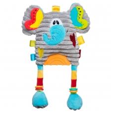 Žaisliukas vežimėliui - autokėdutei drambliukas