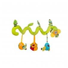 Žaisliukas vežimėliui, lovytei, autokėdutei paukščiukai